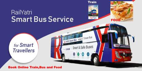 Book Online Train, Bus, Food