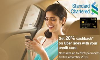 Standard Chartered Credit Card Offer